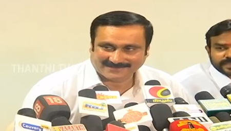Rajinikanth can voice his support to PMK : Anbumani Ramadoss