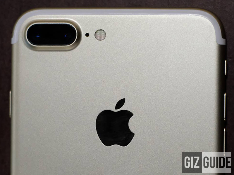 Apple iPhone 7 Plus dual camera