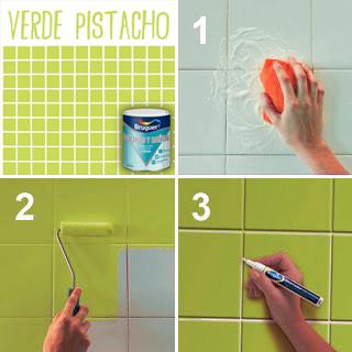 Mundocolor bruguer esmalte de azulejos for Pintura azulejos colores