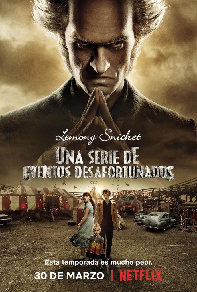 Lemony Snicket – Una serie de eventos desafortunados Temporada 2 Ingles Subtitulado 720p