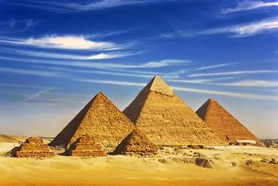 Curiosidades sobre as sete Maravilhas do Mundo Antigo: Pirâmides de Gizé