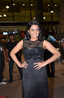 Wamiqa Gabbi in a sleeveless Black Designer Transparent Gown at 64th Jio Filmfare Awards South ~  Exclusive 071.JPG