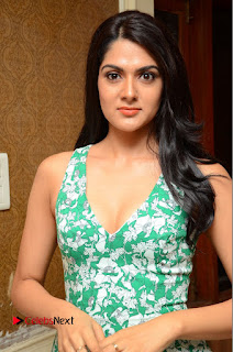 Actress Sakshi Chaudhary Pictures in Short Dress at Selfie Raja Movie Song Launch  0045.JPG