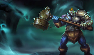 Chinese Hextech Sion Skin