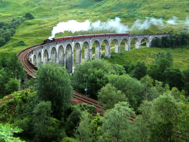 A bordo dell'Hogwarts Express tra le HIghlands scozzesi