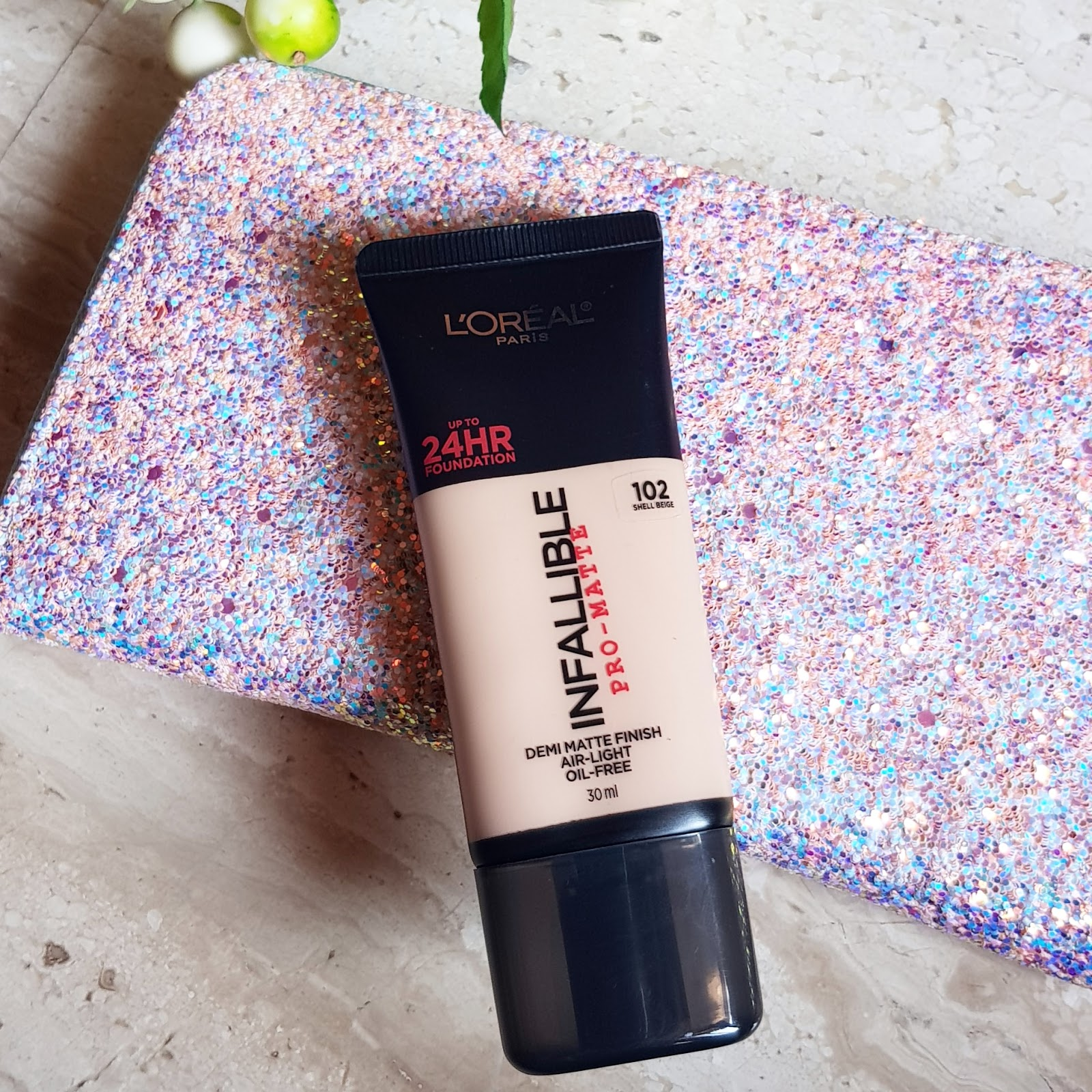 Ridzi Makeup Loreal Infallible Pro Matte Foundation Review 24hr