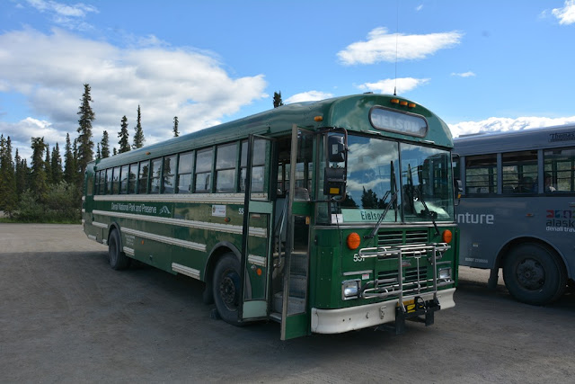 Denali National Park bus