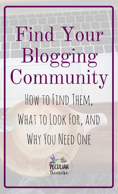 Find Your Blogging Community: How, Where, and Why