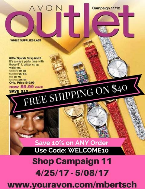 Avon Outlet Sales