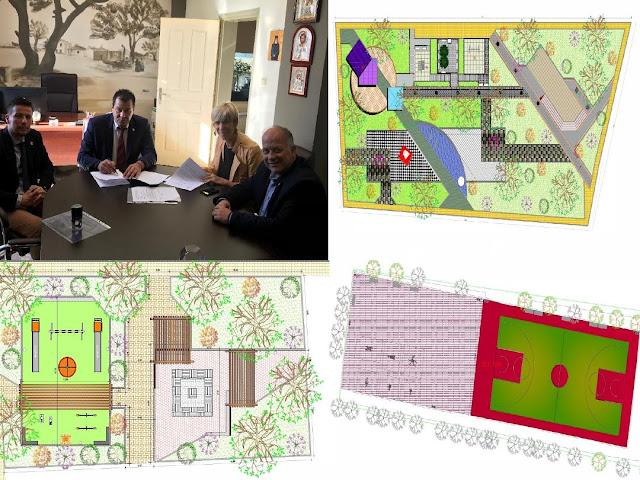Υπέγραψε σύμβαση για 17 νέες πλατείες ο Δήμαρχος Φυλής Χρήστος Παππούς