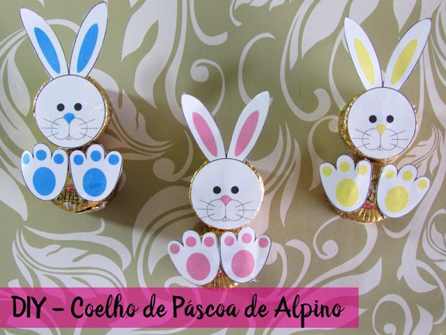 Vídeo: DIY - Coelho de Páscoa de Alpino