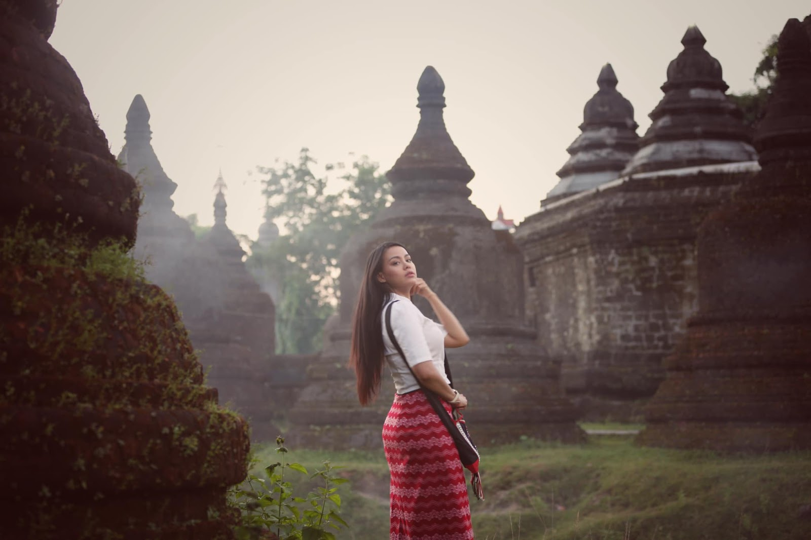 Ma Aye Thaung - Mrauk U Trip Beautiful Photos , Beauty of Myanmar