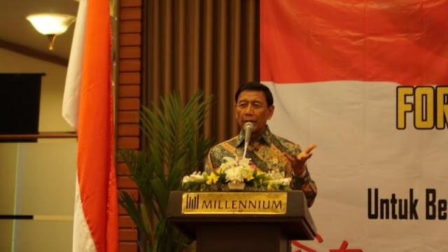 Wiranto: Suhu Politik Memang Memanas, Tapi Jangan Sampai Mendidih