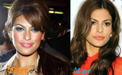Eva Mendes Plastic Surgery Before and After Botox and Nose Jobs | Gossip Plastic Surgery Before and After