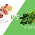 Kekurangan protein dalam badan boleh di atasi dengan protein tumbuhan