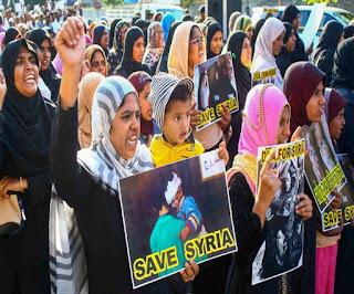 सीरिया के लिए रैली से इंकार