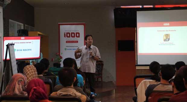 Gerakan Nasional 1000 Startup Digital Pacu Pesrta Berfikir Kritis
