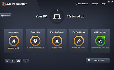 Screenshot AVG PC Tuneup 16.76.3.18604 Full Version
