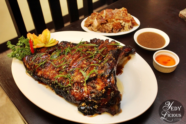 Boneless Cebu Lechon and the Spicy Lechon Ribs