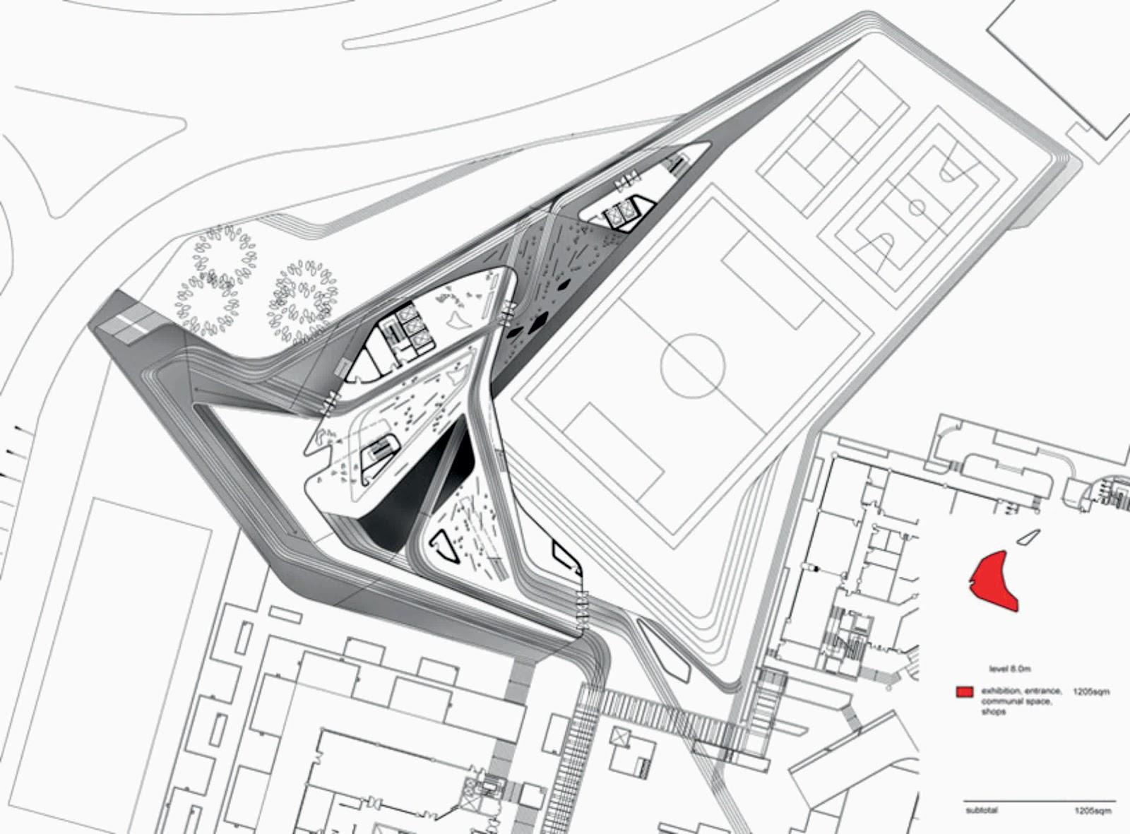 Jockey Club Innovation Tower By Zaha Hadid Aasarchitecture