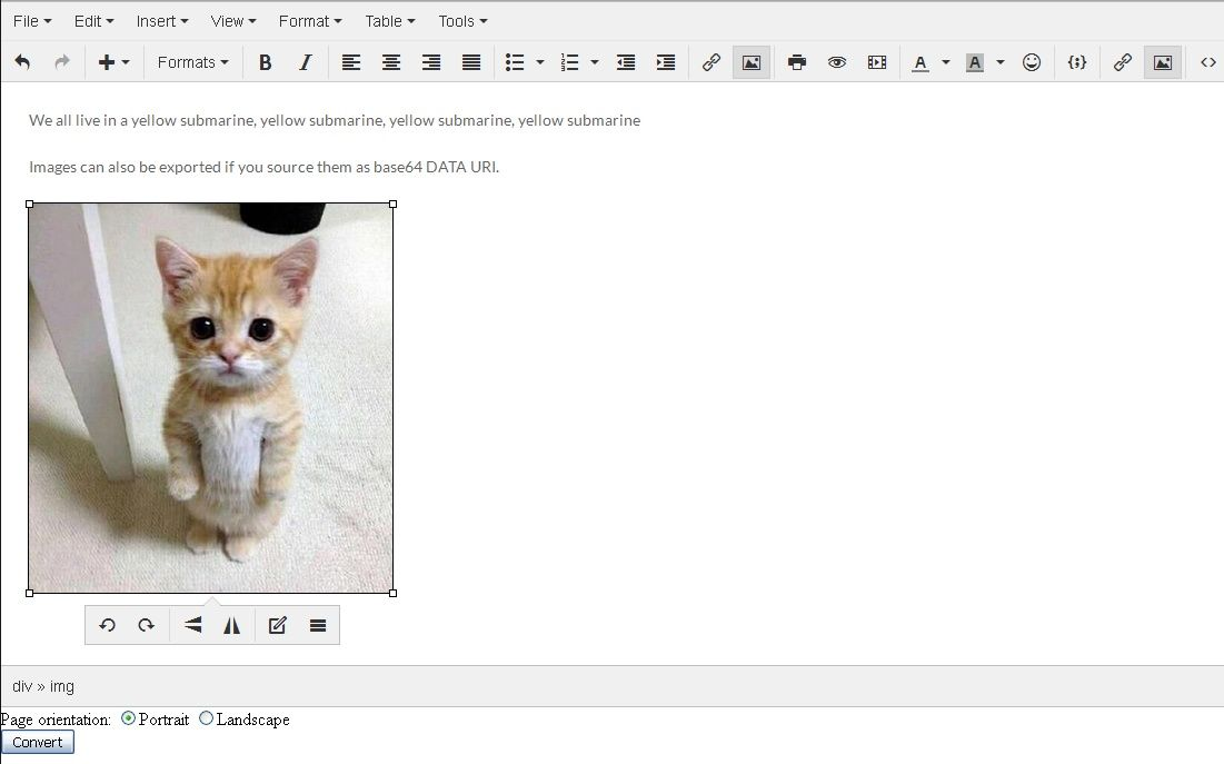 Convert HTML Document to docx in the Browser   Tutorial Blog for