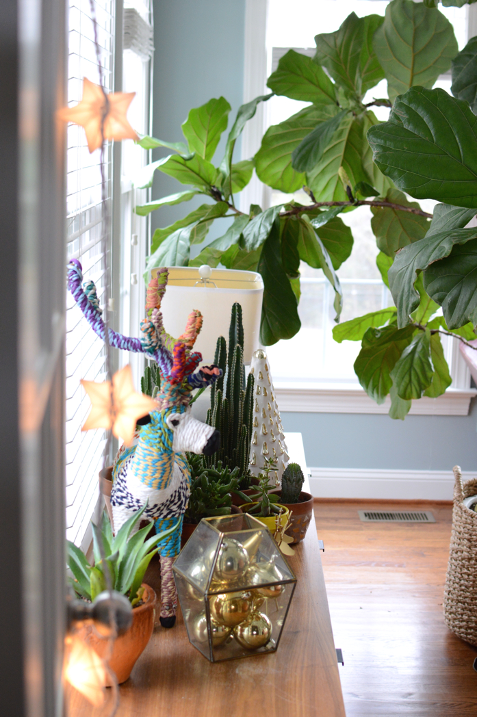 Holiday Touches and Greenery