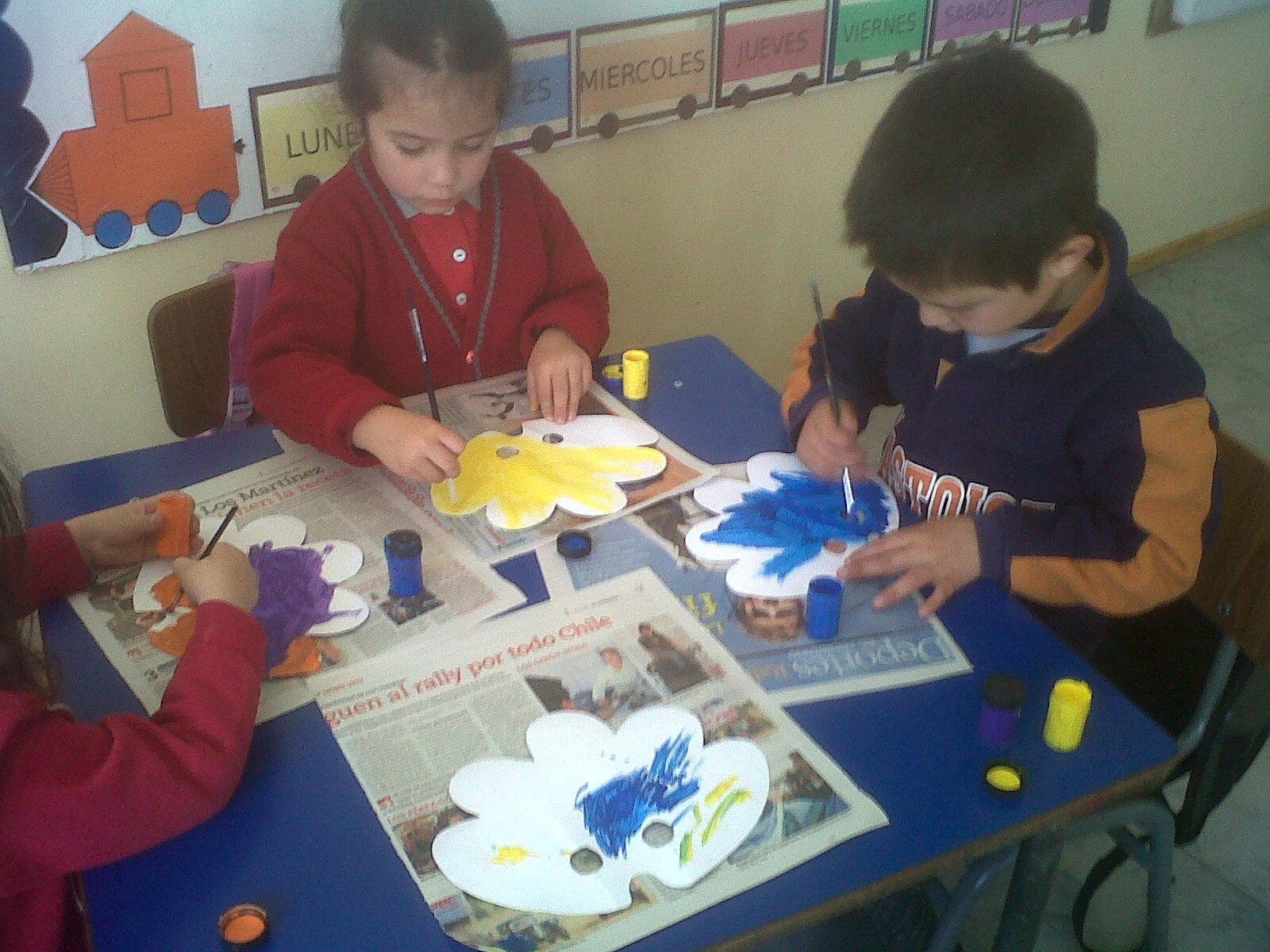 Educaci n inicial para todos los beneficios del arte en - Ninos pintando con las manos ...