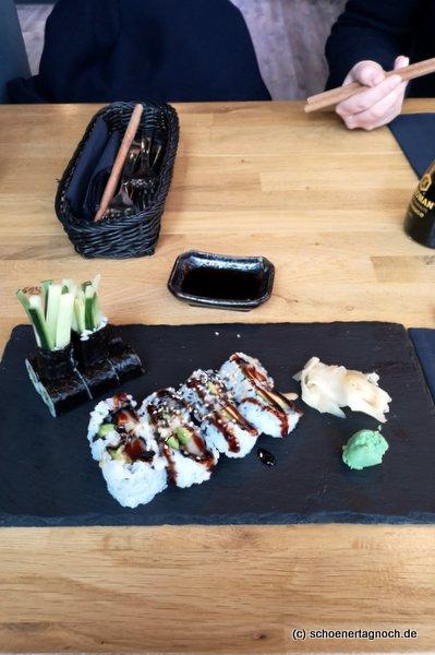 Sushi im Taumi in Karlsruhe