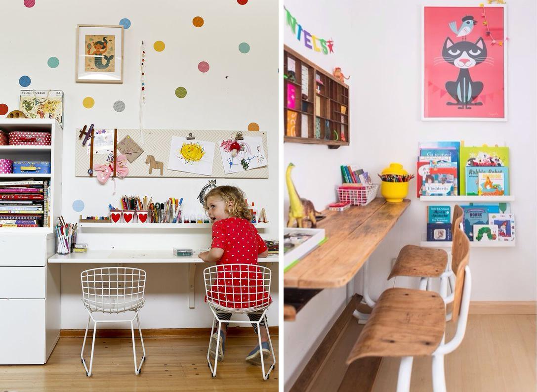 Sé creativo dormitorios infantiles muy originales Área prioritaria de su hogar - 18 Escritorios infantiles muy originales | Más Chicos