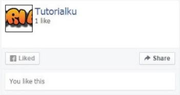 Cara Membuat Fanspage Facebook Tampil di Blog