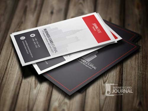 Modern & Stylish Real Estate Business Card Template