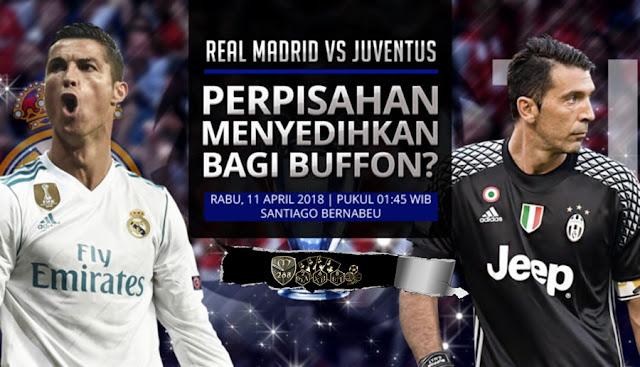 Prediksi Real Madrid Vs Juventus, Kamis 12 April 2018 Pukul 01.45 WIB @ SCTV
