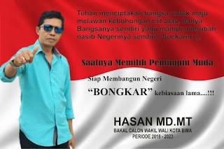 Hasanuddin MD. MT : Meretas Bingkai Feodalisme Dengan Pilihan Calon Berintegritas