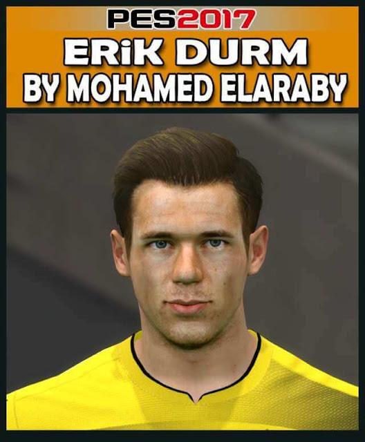 Erik Durm Face PES 2017