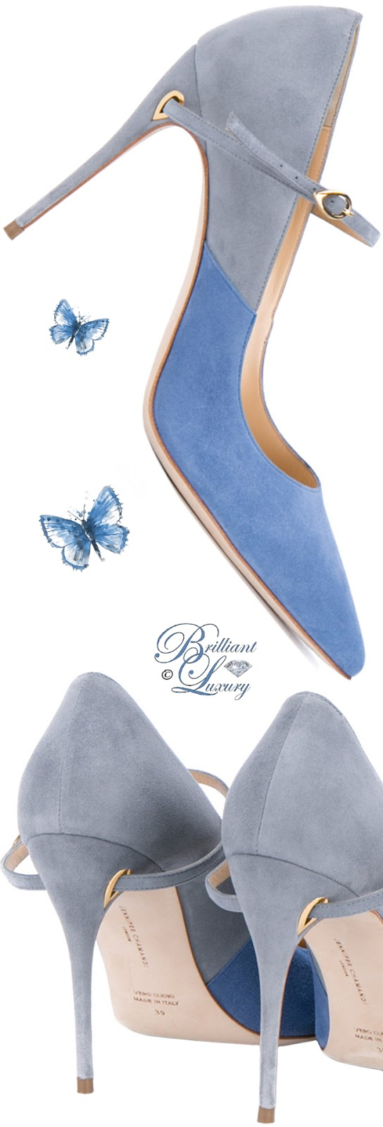 Brilliant Luxury ♦ Jennifer Chamandi Lorenzo Pumps