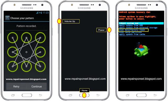Cara Reset Samsung Galaxy J7