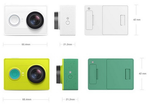 Action Camera Terbaik #1: Xiaomi Yi