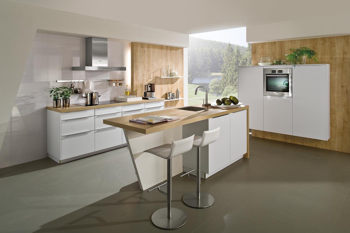 haecker kitchen vt wonen keuken van haecker de systemat av 6000 polar wit. Black Bedroom Furniture Sets. Home Design Ideas