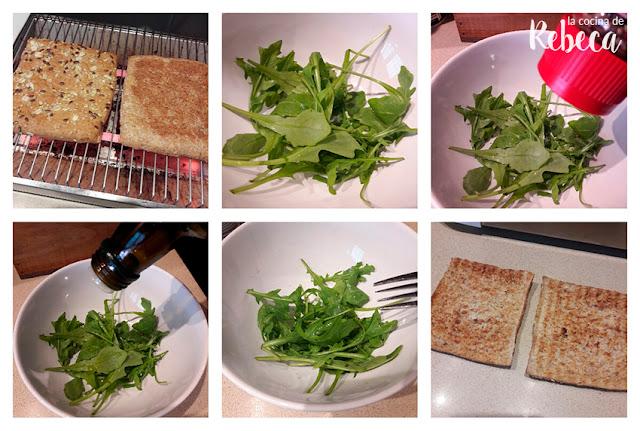 Receta de sándwich de pavo y grosellas 01