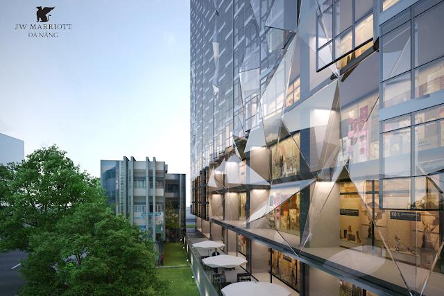 Phối cảnh dự án Alphanam Marriott Đà Nẵng
