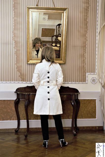 Coat bianco