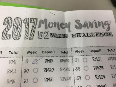 cabaran diri, simpanan masa depan, saving, tabungan