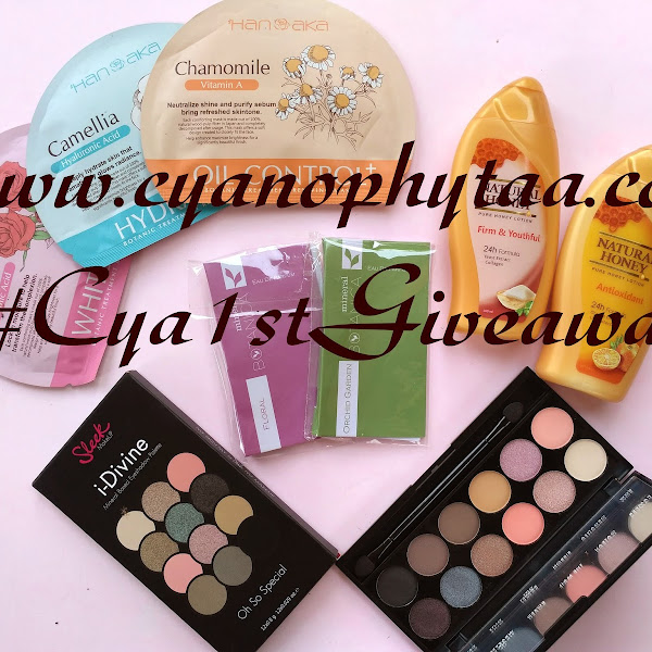My First Giveaway #Cya1stGiveaway (CLOSED)