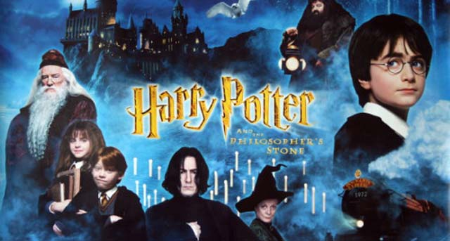 Harry Potter and the Sorcerer's Stone cover poster bercerita tentang
