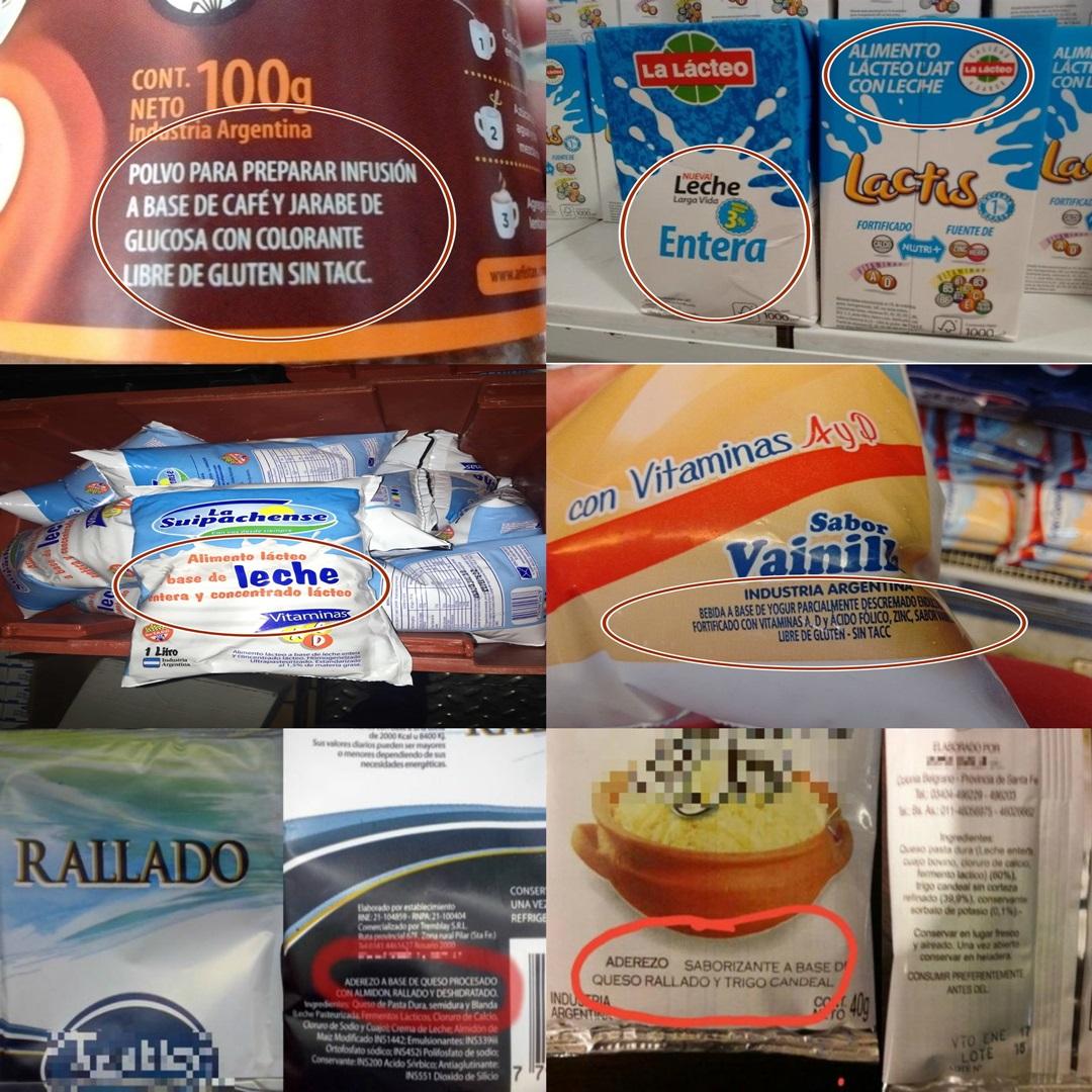 La truchada de los alimentos baratos a base de