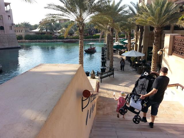 Madinat Jumeirah rattaat lapsi perhe