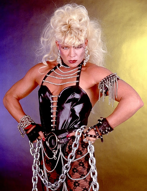 Womens Pro Wrestling Before Daffney There Was Luna Vachon-6533