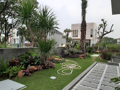 tukang taman surabaya |  taman rumah feng shui