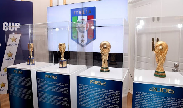 4 World Cups of Italy exposed in Shkodra