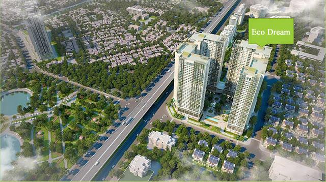 Phối cảnh dự án Eco Dream Nguyễn Xiển